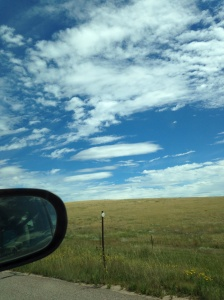 Eastern Colorado plains, headed to Illinois for #phasesofthemoon