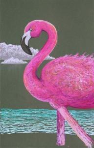 RH pink flamingo